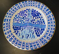Blue Willow Plates Geography China Art Lessons Elementary