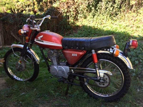 1970 Cl 100 Honda 2100 La Jolla Ca