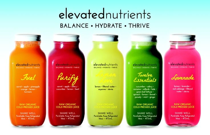 Elevated Nutrients before it became Suja Again, I like having the - fresh blueprint cleanse hpp