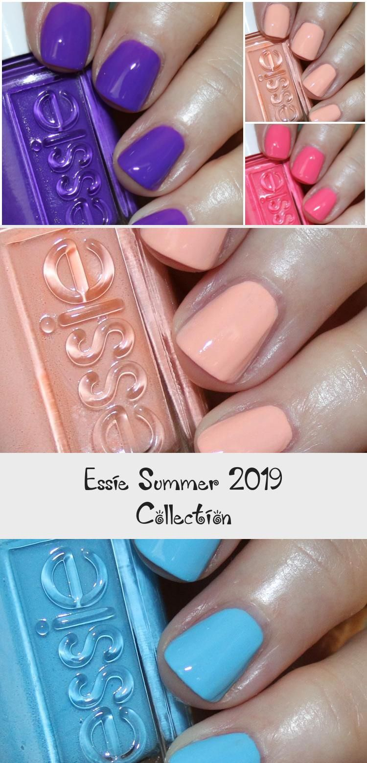 Essie Summer 2019 Collection – MakeUp
