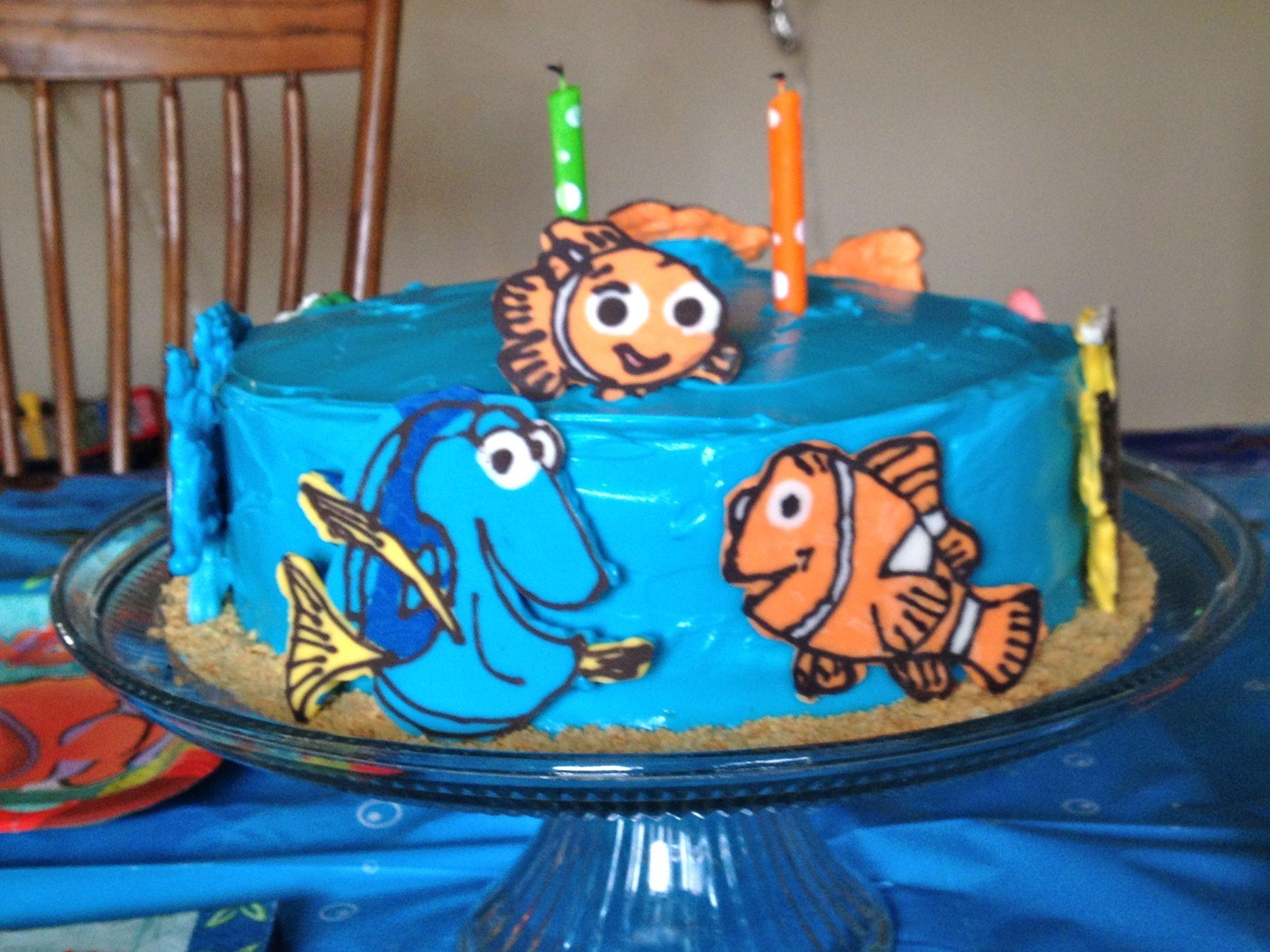 Finding nemo birthday cake finding nemo birthday cake