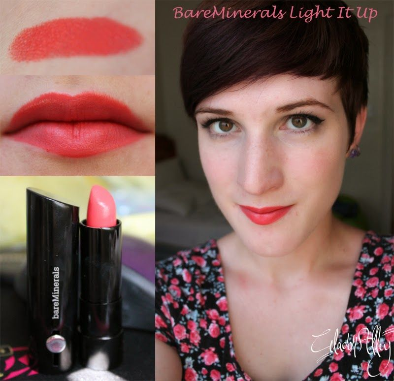 Bare Minerals Marvelous Moxie Lipstick In Light It Up