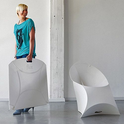 Flux folding chair - indoor outdoor flat portable chair | portable ...