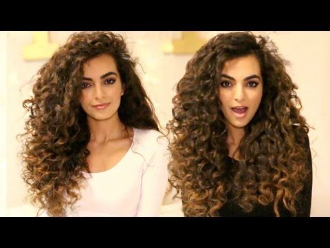Heatless Curls For Long Hair Tutorial Youtube With Images