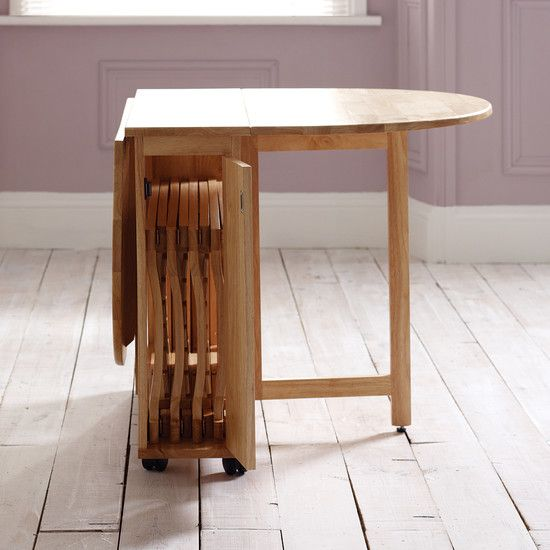 Choose A Folding Dining Table For A Small Space Wood Dining Room