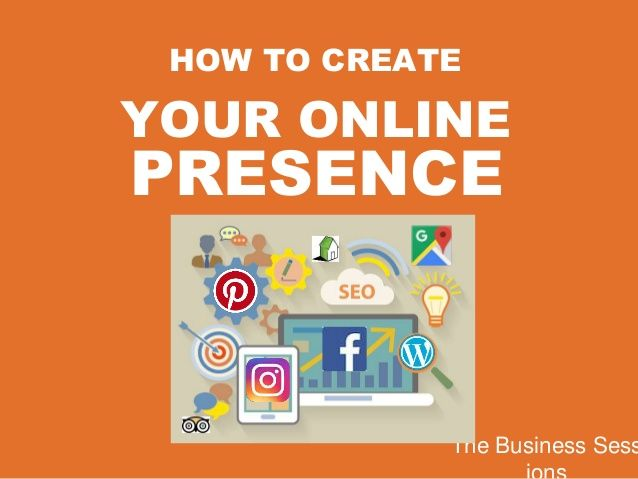 Image result for create online presence #people #business ...