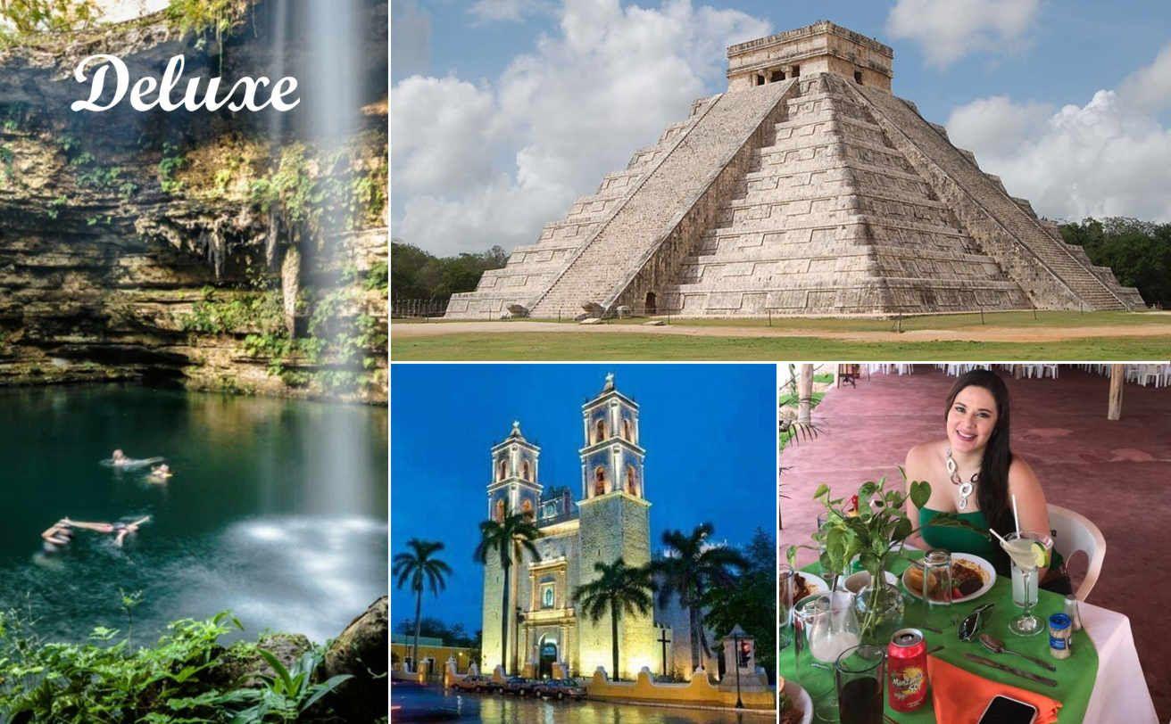 Chichen Itzá Desde Cancún Deluxe Y Cenote Maya Chichen Itza Tour Chichen Itza Cancún