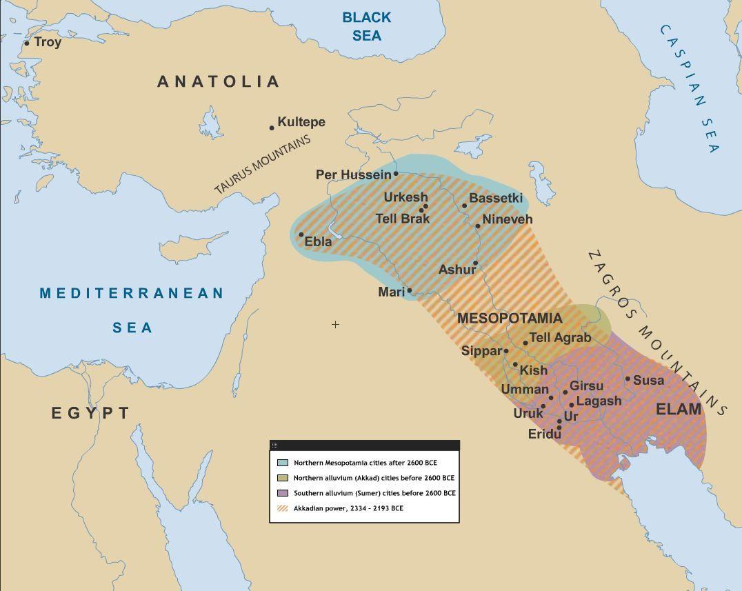 Mesopotamia Bce The Cradle Of Civilisation The