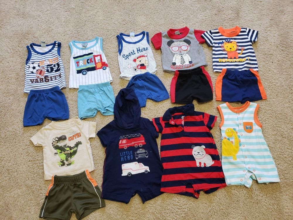 Baby Boy Clothes 0 3 Months Summer Fashion Clothing Shoes Accessories Babytoddlerclothing Boysclothingnewborn5t Eb Boy Outfits Baby Boy Outfits Baby Boy