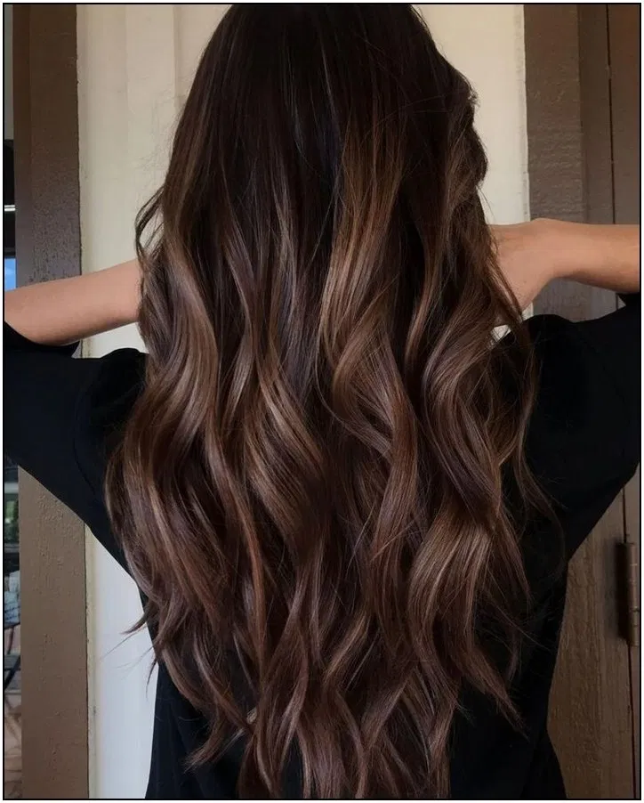 137 Vintage Half Up Half Down Hairstyles Ideas To Make You Look Perfect Page 35 Dark Hair With Highlights Hair Color For Black Hair Brown Hair With Highlights