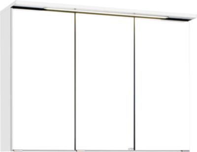 HELD Möbel Bologna 3D-Spiegelschrank - 90 cm - Weiß Jetzt