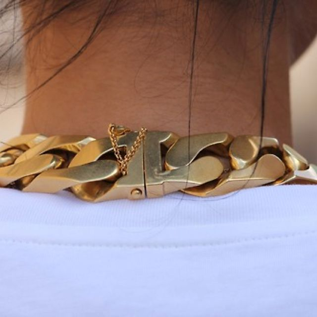 Heavy Gold Vintage Chain