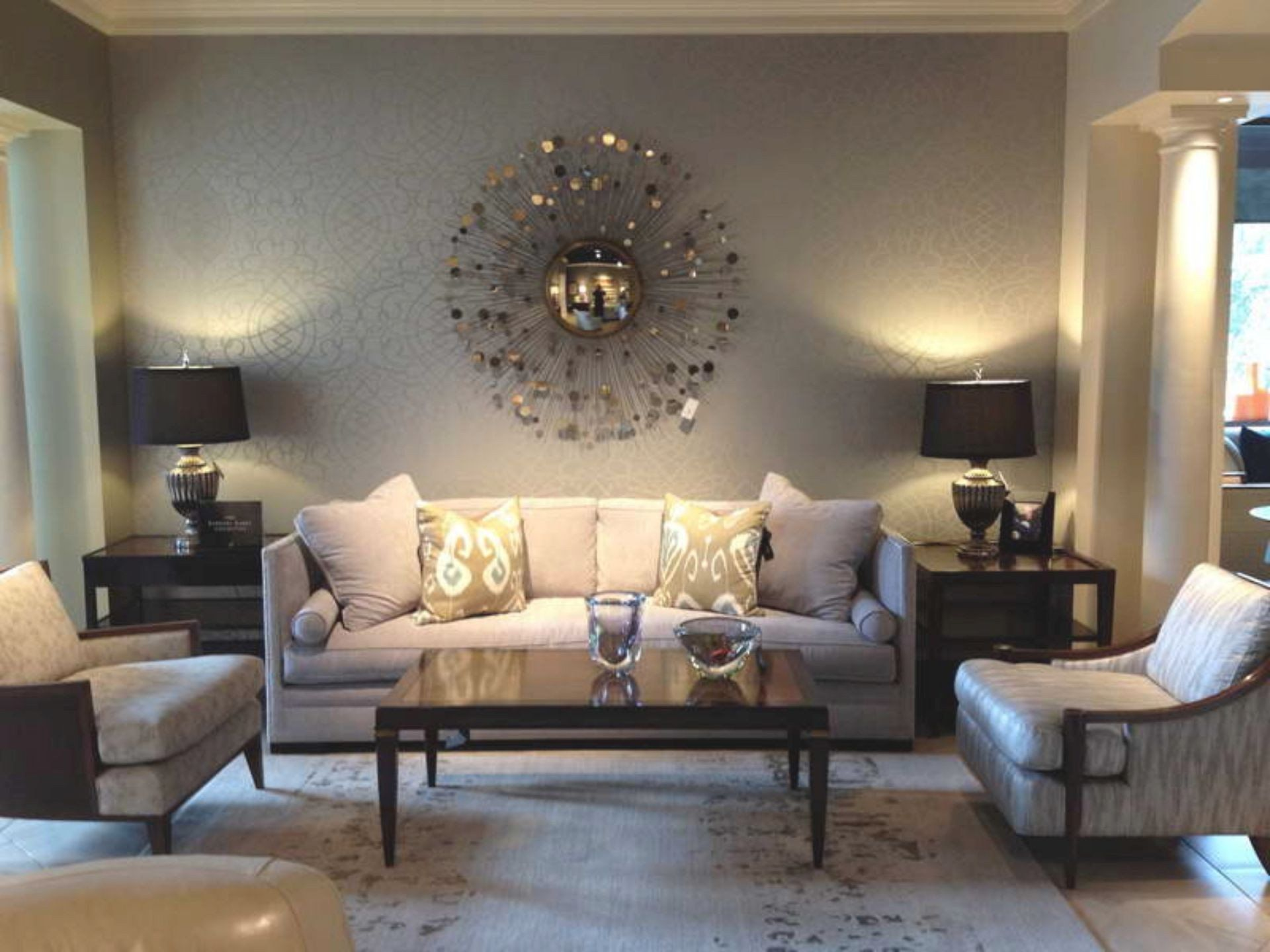 Decorate Large Wall Living Room Wall Decor Ideas Decoration Brilliant Decorating With Cheap Living Room Decor Living Room Decor Apartment Pinterest Living Room