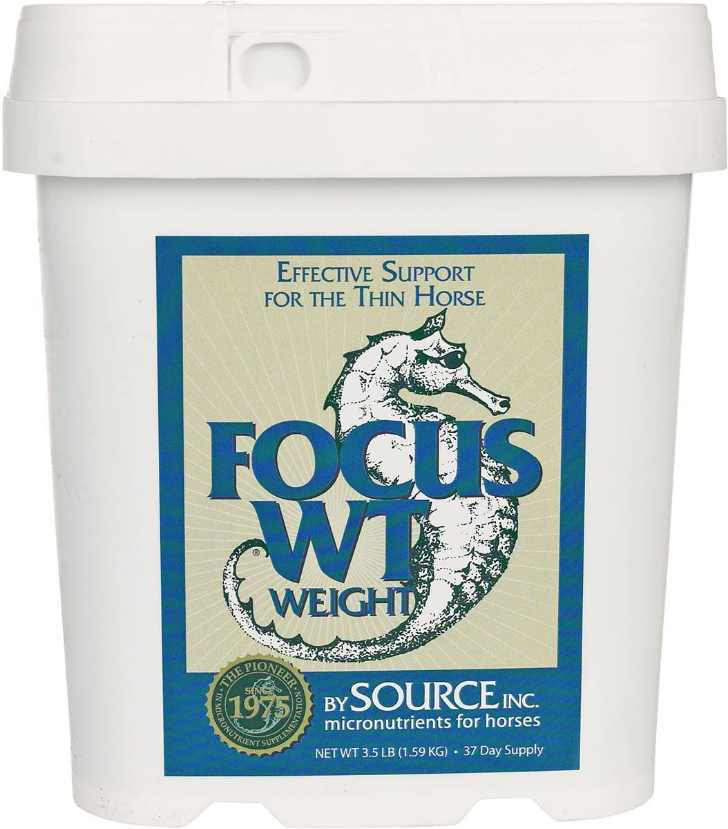 Focus WT Weight for Horses 3.5 lb (37 days)