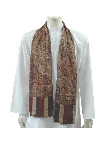 Écharpes Soie pour Hommes Accessoire 30 x 152 Cm: Amazon.fr: Vêtements et accessoires