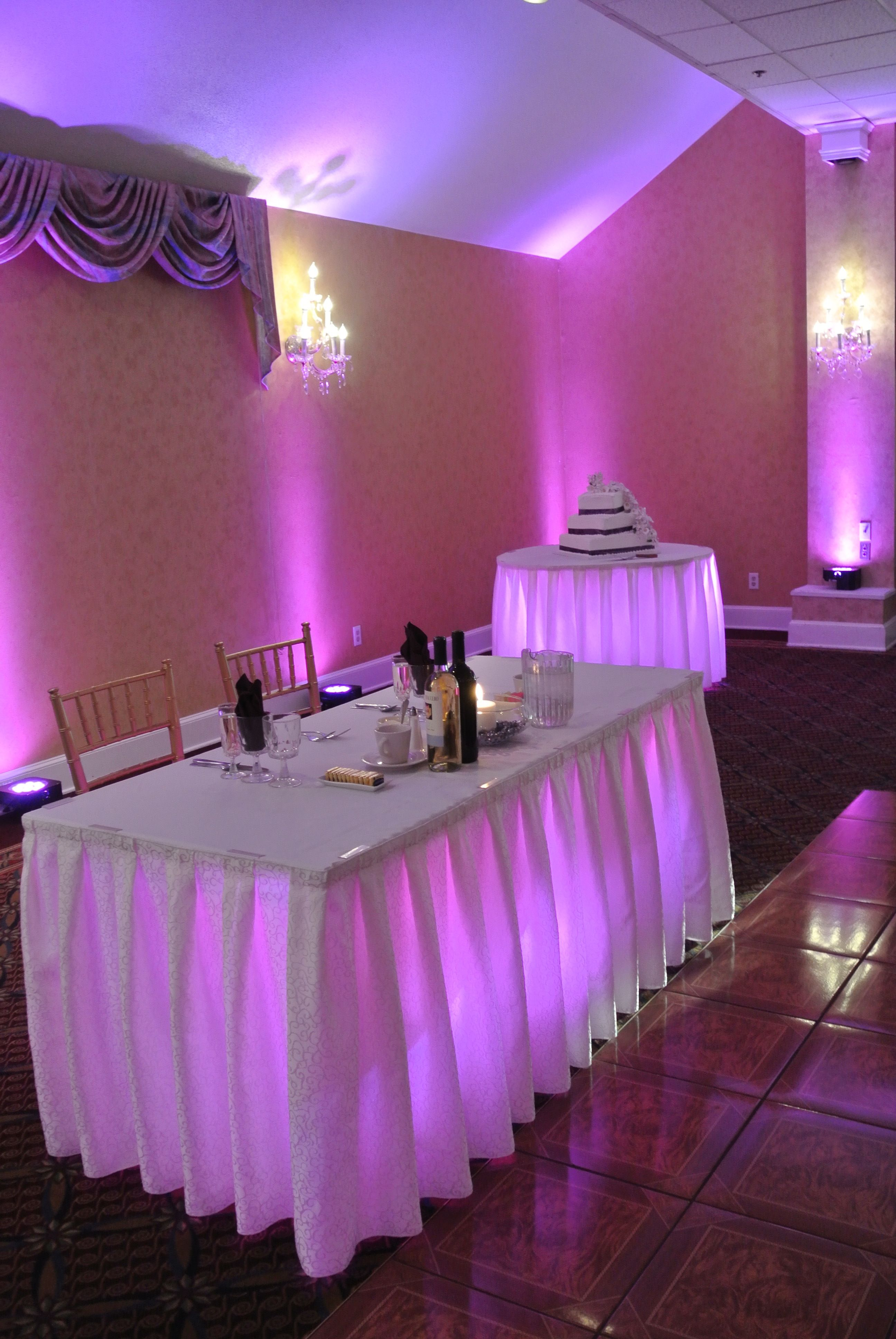 Under Table Lighting By Music In Motion Entertainment At