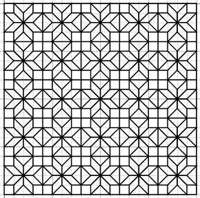 Blackwork Embroidery: Fill Pattern