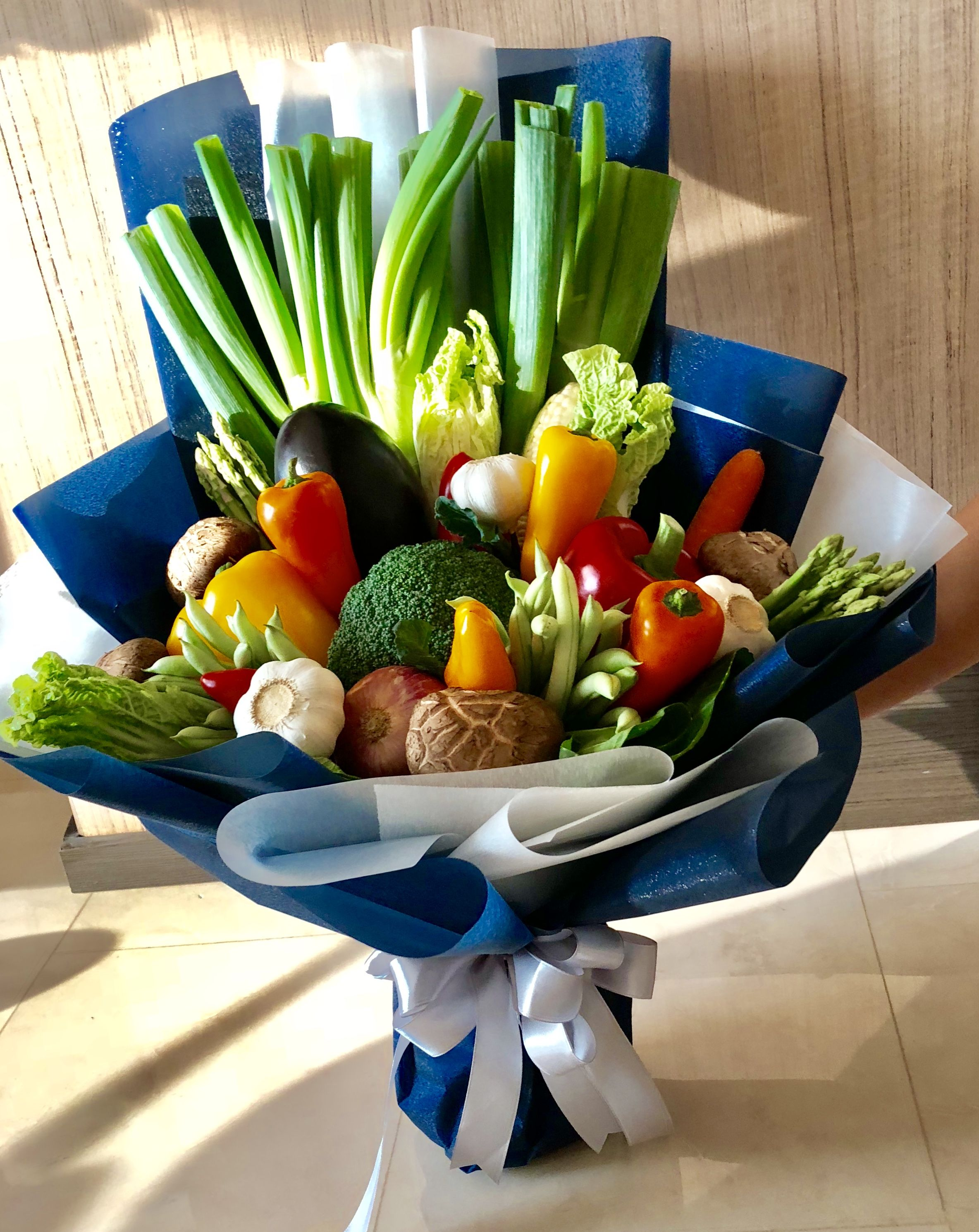 Mix Vegetables Bouquet by JW florist Original bouquets