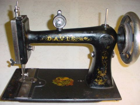 HAVF Davis Treadle High Arm Vertical Feed My Sewing Machines Magnificent What Is A Vertical Sewing Machine