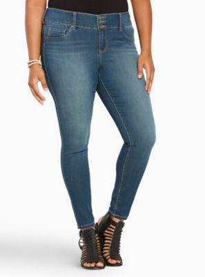 59c1f73ecf1eb Jegging - Medium Wash | Products | Jeggings, Plus size jeans, Plus size