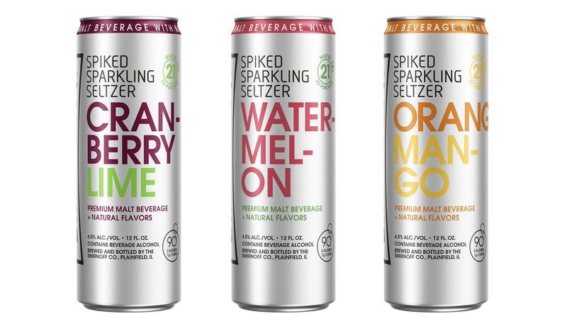 Smirnoff Spiked Sparkling Seltzer | Keto friendly products