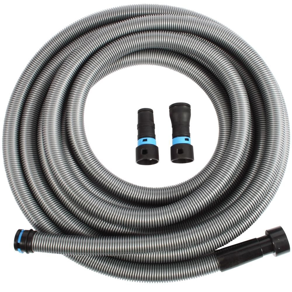 Cen-Tec 30 ft. Hose with Dust Collection Power Tool Adapters for Wet/Dry Vacuums-94203 - The Home Depot