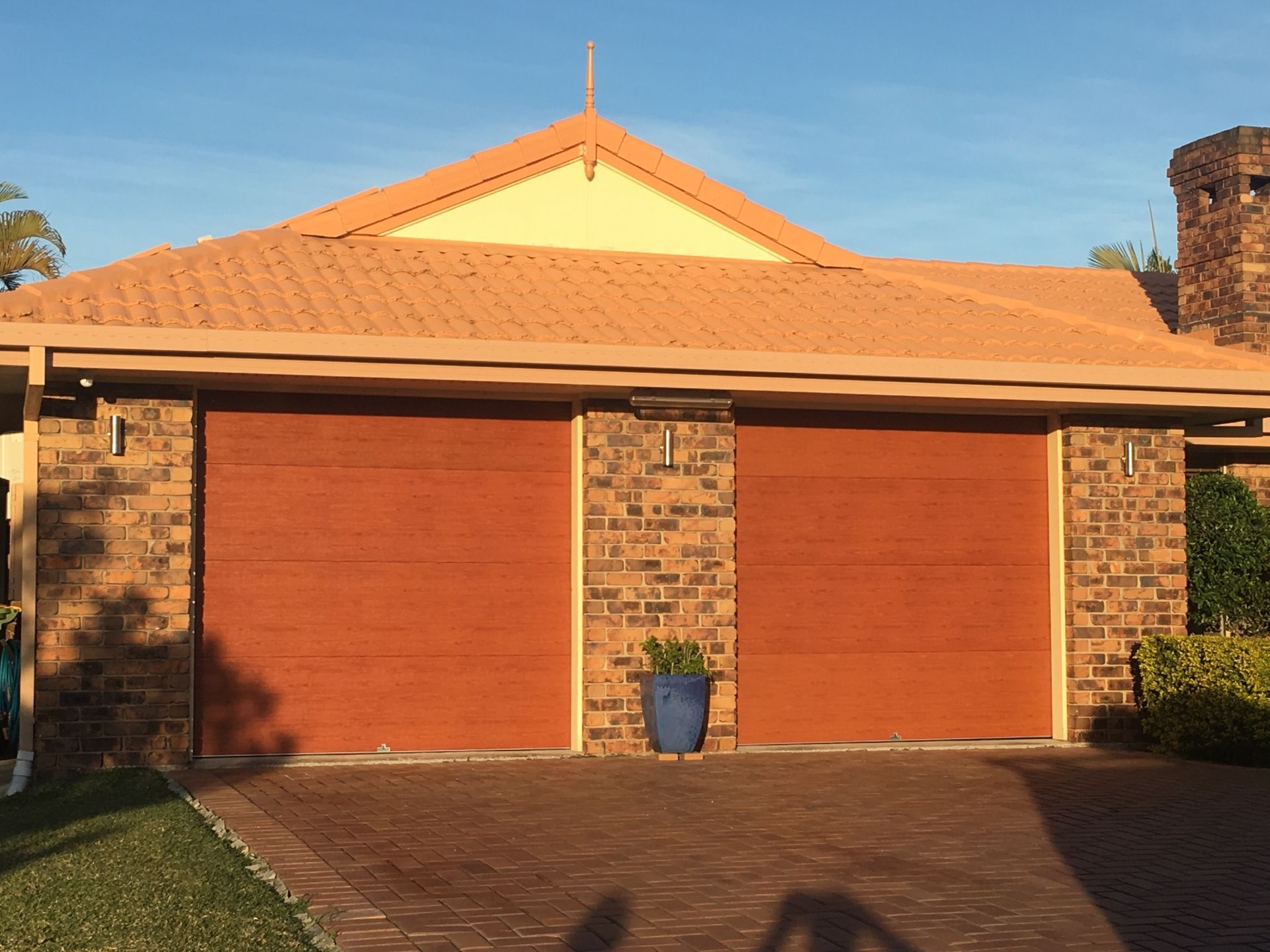 Centurion Sectional Door. Mediterranean Red Gum & Centurion Sectional Door. Mediterranean Red Gum | Garage Doors ... pezcame.com