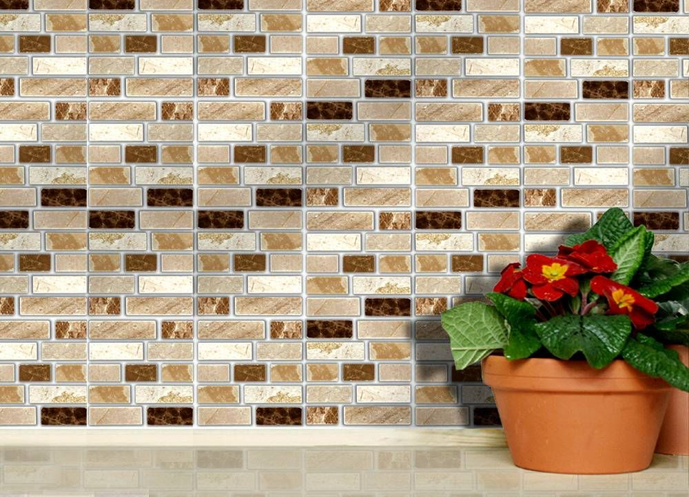 Solid and powerful adhesive wall tiles. Apply over any size of tile ...