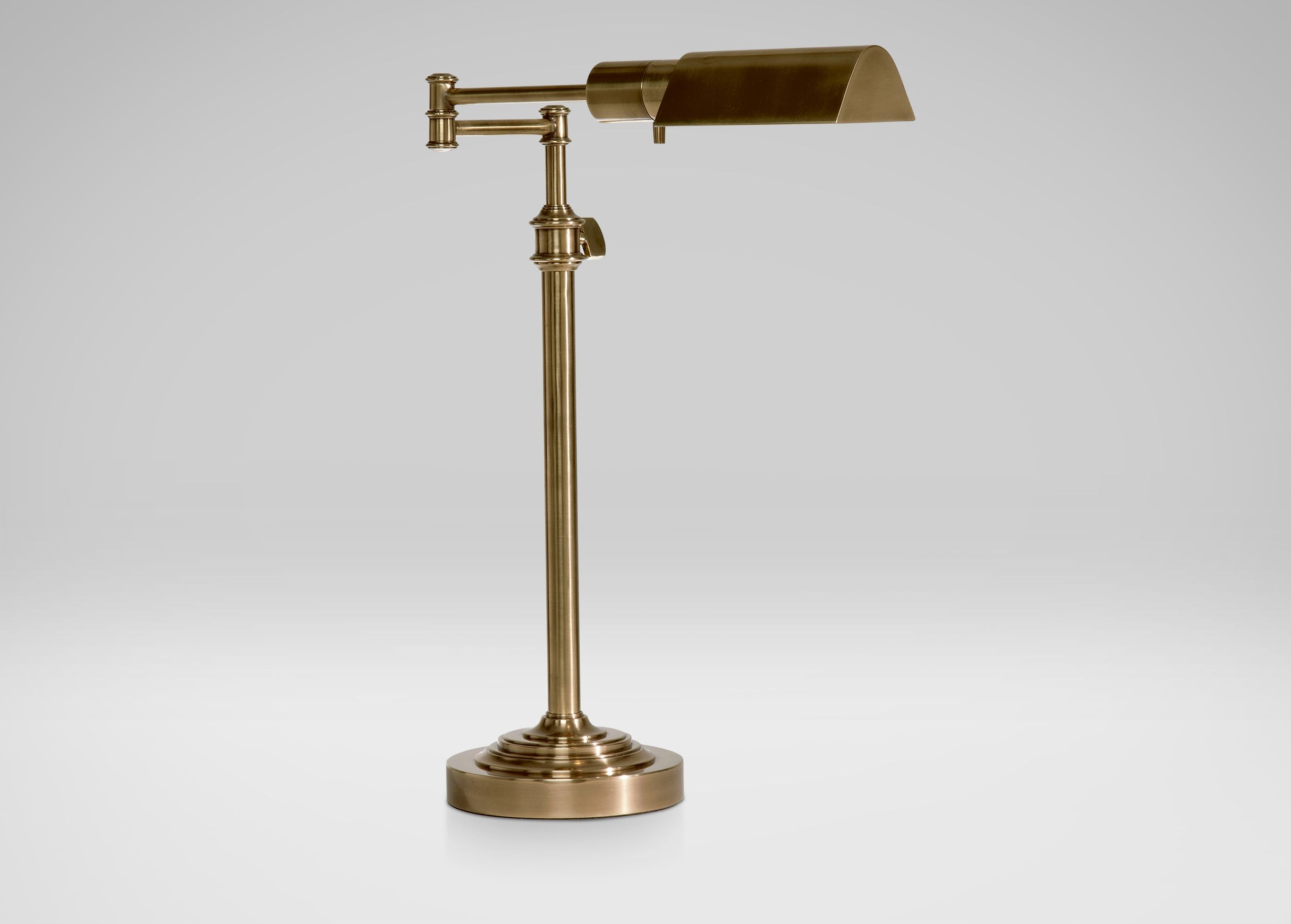 Beau Brass Pharmacy Desk Lamp   Ethan Allen