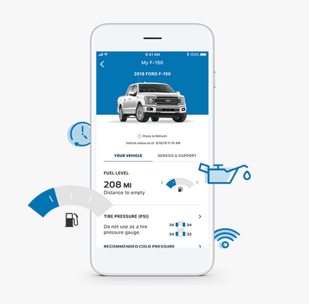 When You Add Your Vehicle To The Fordpass App You Can Access Its