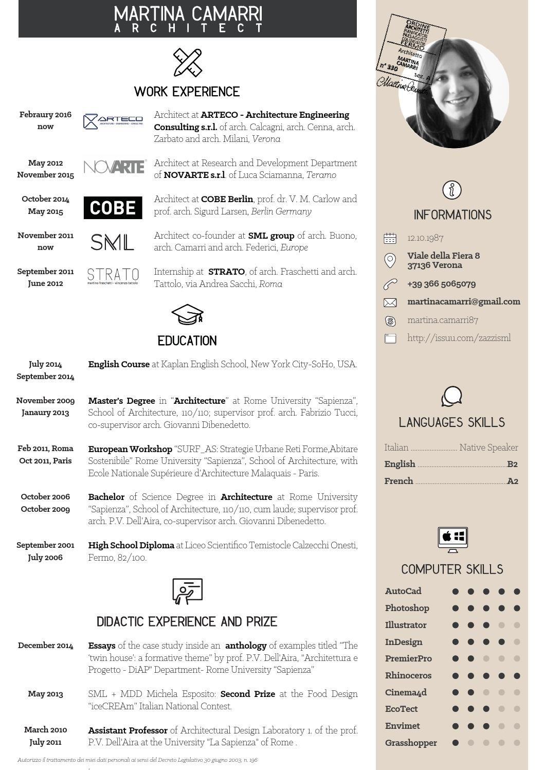 model cv moderne format pdf