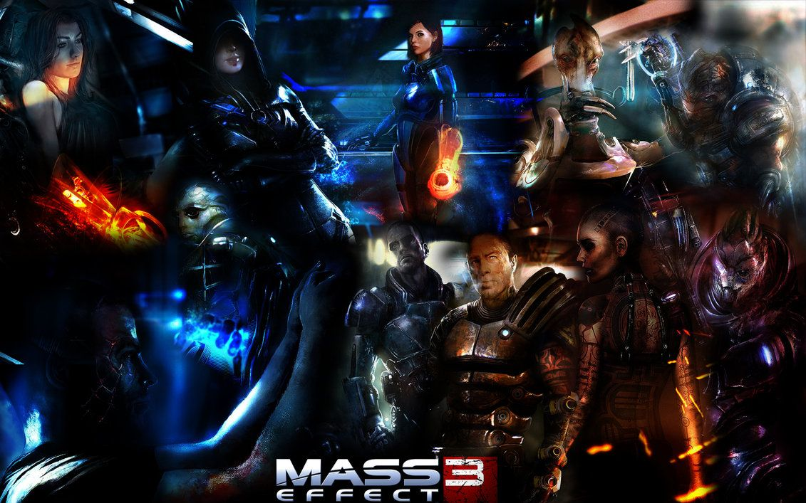 Mass Effect 3 Collage Mass Effect Mass Effect 3 Mass