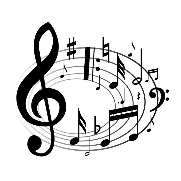 Music-notes-Clip-art Songs   Fine Arts Committee   Pinterest ...