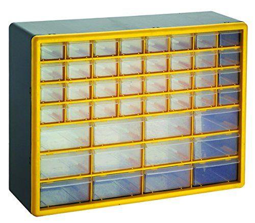 GFORGE HL3045D 44 Drawer Heavy Duty Plastic Parts Organizer Drawer