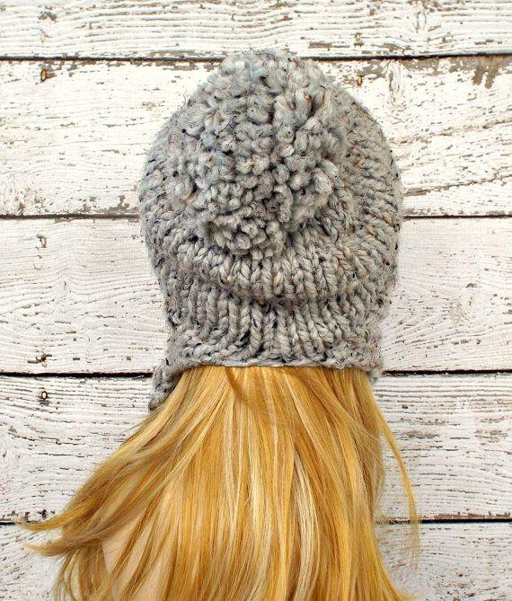 Instant Download Knitting Pattern - Knit Ear Flap Hat Pattern - Knit ...