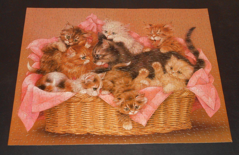 Kitten Caboodle Pzl 4152 Springbok 500 Piece Jigsaw Puzzle Cats Pzl4152 Complete 1983 Cat Jigsaw Puzzle Jigsaw Puzzles 500 Piece Jigsaw Puzzles