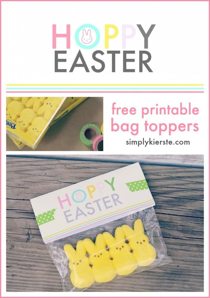 Hoppy easter bag toppers free printable simplykierste hoppy easter bag toppers free printable simplykierste negle Images