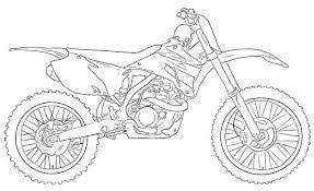 Dibujos De Motos De Cross Para Colorear Motos Para Dibujar Como
