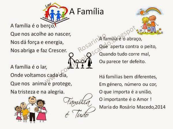 Poema Família …