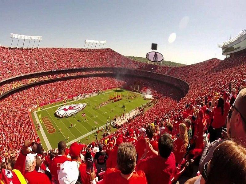 4. Kansas City Chiefs, Arrowhead Stadium