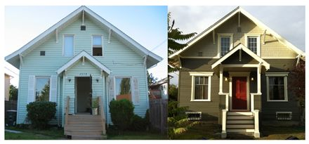 vinyl siding before and after cottage pinterest vinyl siding