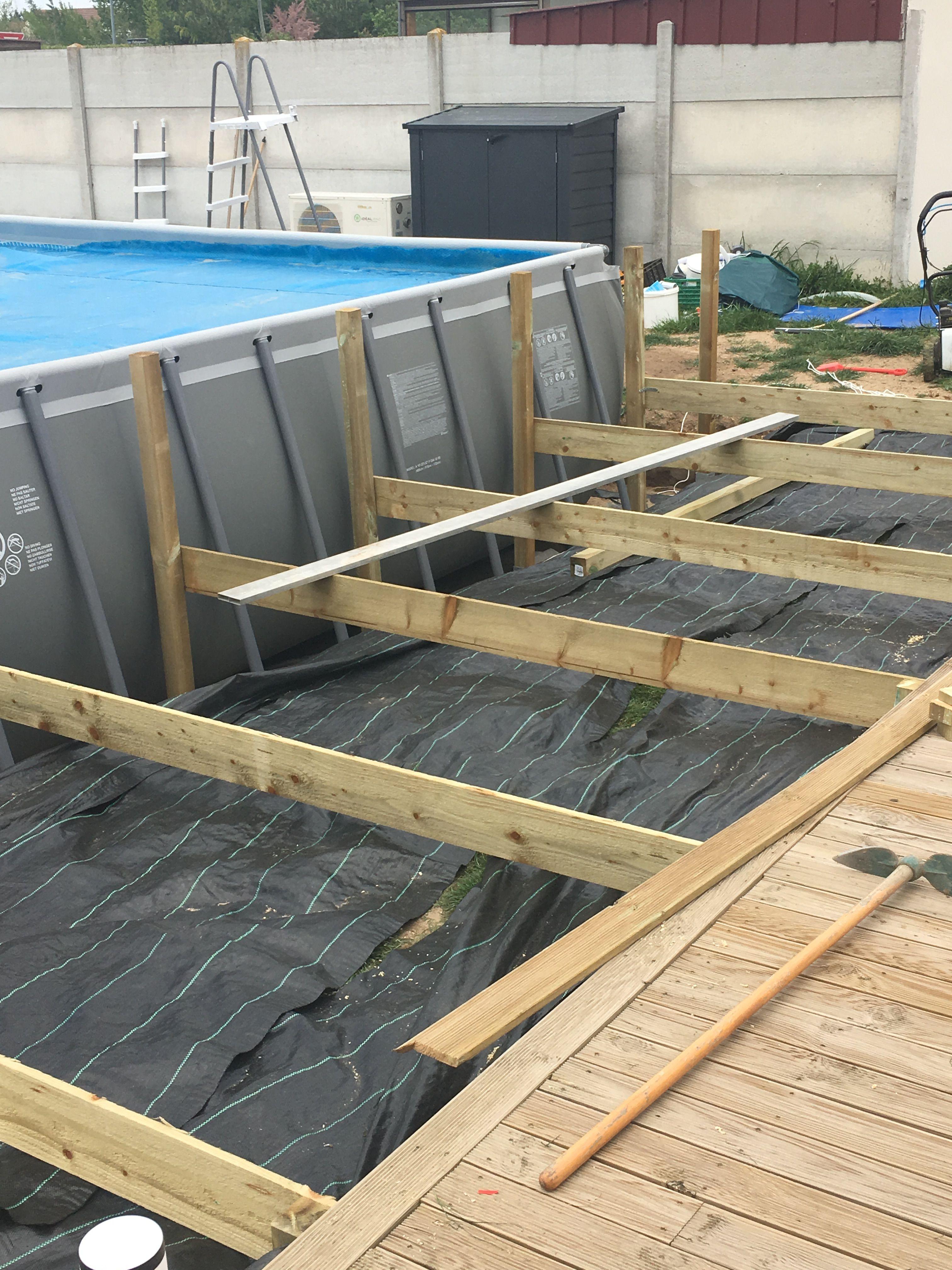 Piscine Tubulaire Habillage Bois Épinglé par olivier sur rectangular pool en 2020 (avec
