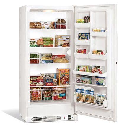 Frigidaire 20 7 Cu Ft Upright Freezer Upright Freezer Buying Appliances Freezer