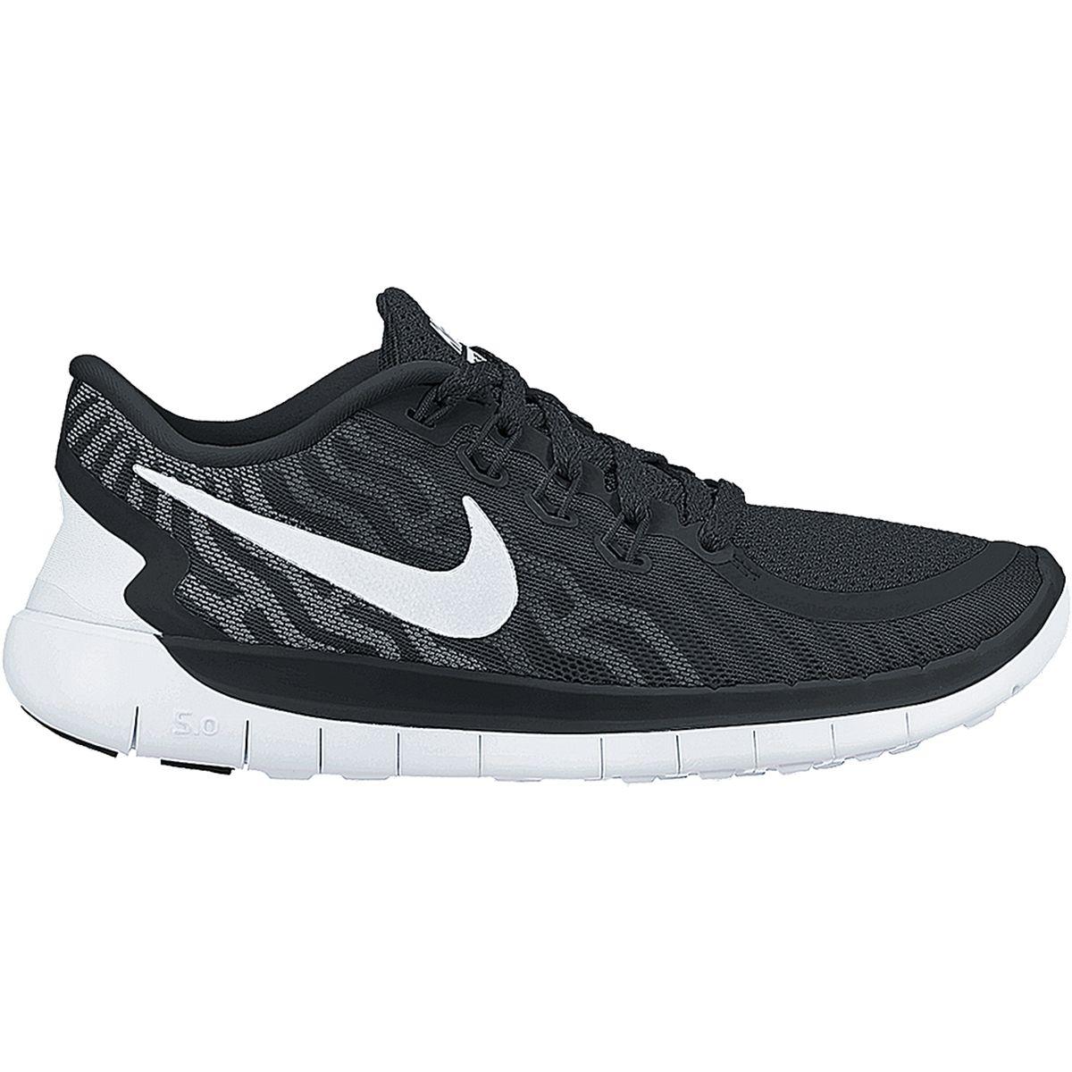 online store ea2ee 1d612 Tênis Nike Free 5.0 Masculino - Preto e Branco | Fitness | Sneakers ...