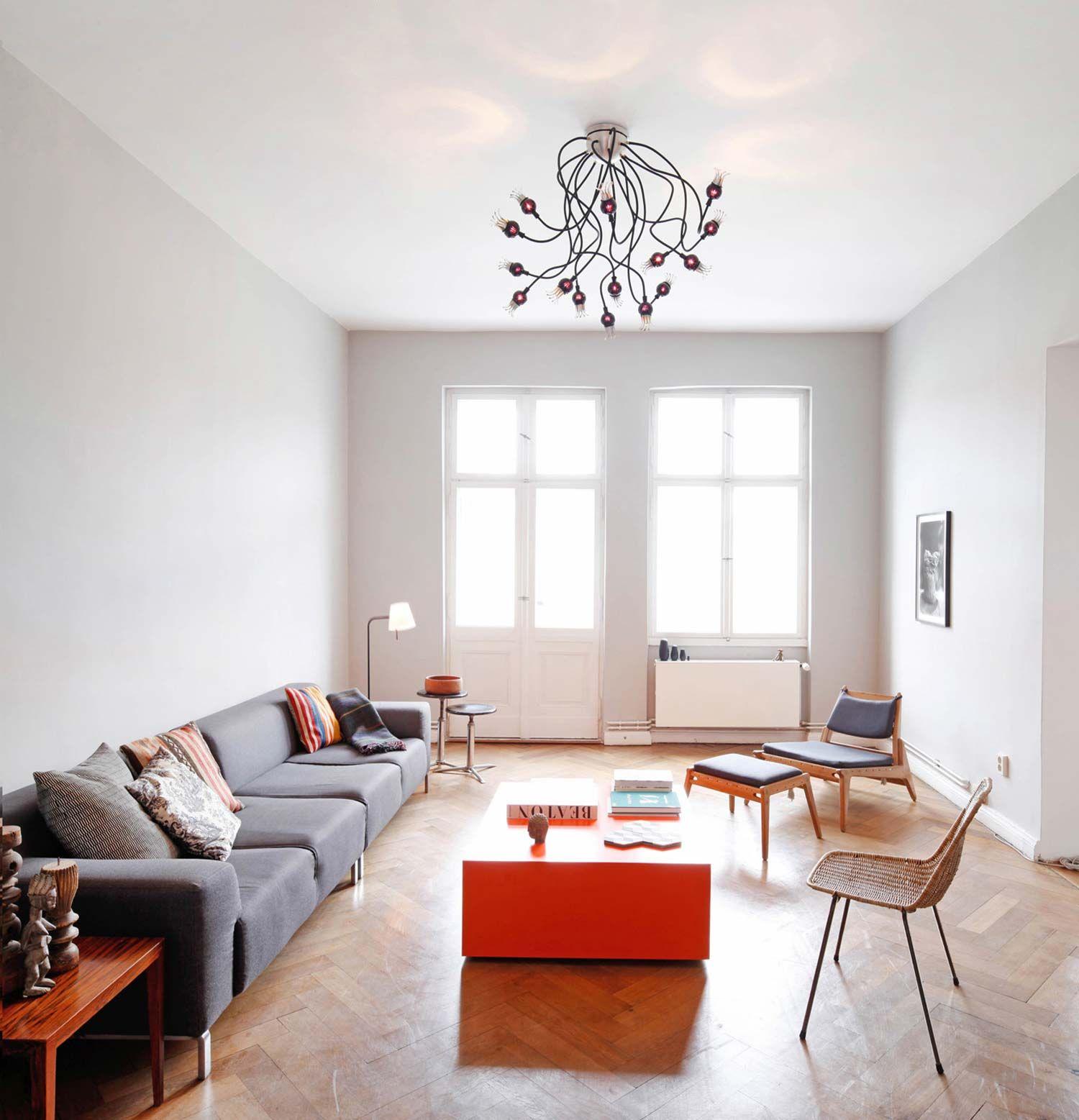 Lighting Poppy Ceiling Innenarchitektur Architektur Serien