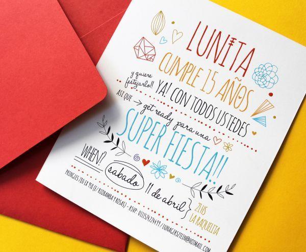 Le Pou Grafica Para Eventos Invitaciones Tarjeta 15