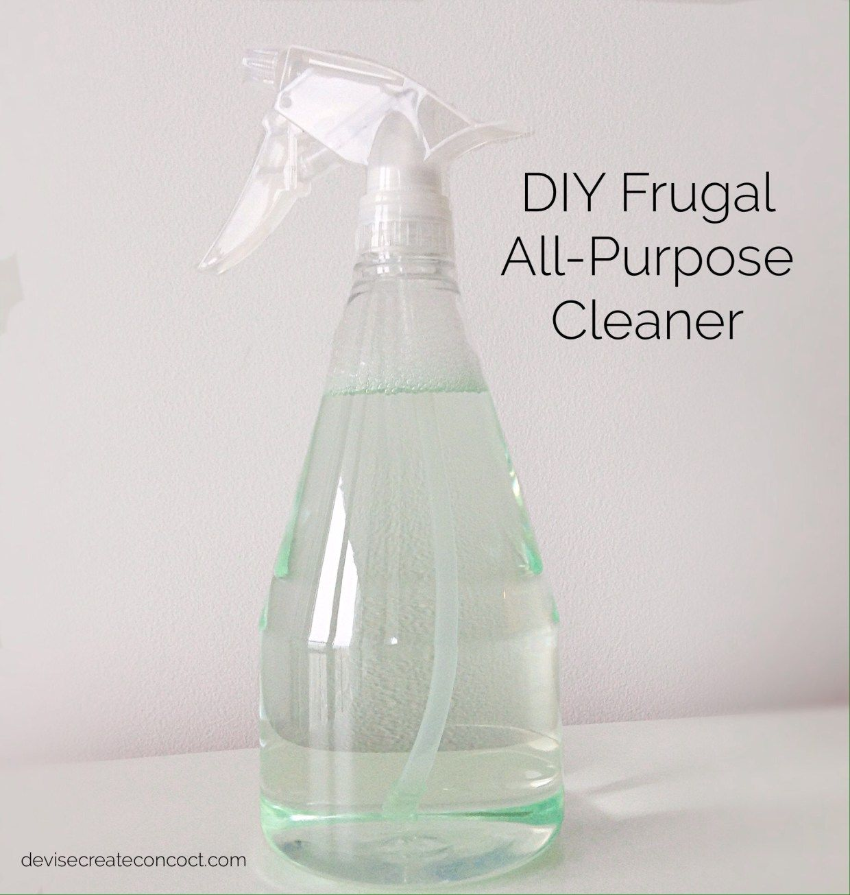 "Who wants to save money on household cleaning?? ""We do, we do!"" Great! You can start by making your own frugal all-purpose cleaner. Before I give you the recipe I've been using, f…"