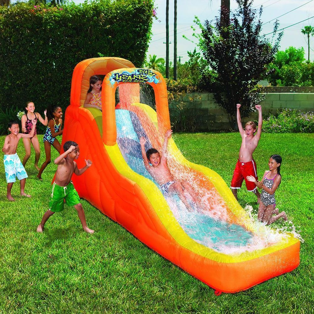 Kids Activity Center Inflatable Water Slide Pool Bouncing