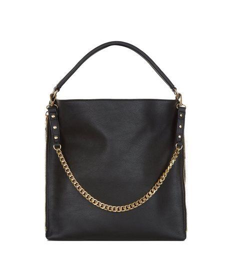 ee5b6e3ef61 Black Chain Strap Shoulder Bag