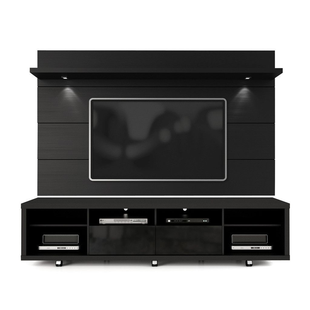 Manhattan Comfort Cabrini Tv Stand And Floating Wall Tv Panel With